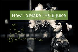 how to make thc e juice an easy