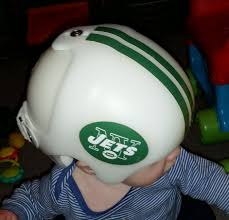 Ny Jets Cranial Band Decoration From High Quality Vinyl