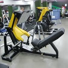 gym equipment 45 degree leg