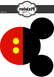 Mickey Mouse Ears Silhouette Vector