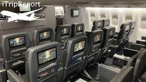 american 777 200er premium economy