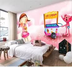 3d Photo Wallpaper Custom Living Room Mural Pink Ice Cream Car Painting Kids Room Picture 3d Wall Mural Wallpaper For Walls 3d Mural Wallpaper For Walls Wallpaper For Walls 3d3d Wall Murals Wallpaper