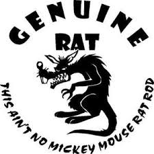 This Ain T No Mickey Mouse Rat Rod Large Decal Sticker You Pick Color 10x10 Inch Rat Rods Truck Rat Rod Custom Rat Rods