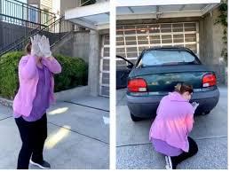 Karen' video: Woman breaks down in ...
