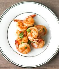 Pan-fried Garlic Prawns with Soy Sauce ...