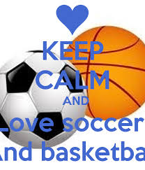 keep calm and love soccer and