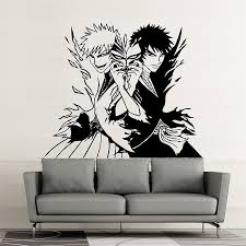 Bleach Manga Ichigo Vinyl Wall Art Decal