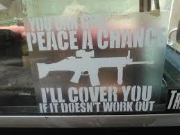 Do You Put Gun Decals On Your Car American Gun Association
