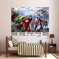 Amazon Com Fathead Avengers Assemble Mural Huge Officially Licensed Marvel Removable Graphic Wall Decal Home Kitchen