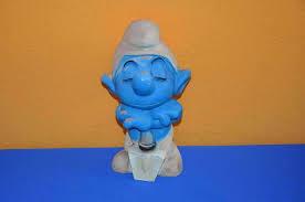 smurf garden gnome signed peyo dupuis