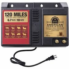 American Farmworks 120 Mile Ac Powered Low Impedance Charger Eac120m Afw At Tractor Supply Co