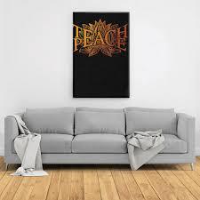 Teach Peace Lotus Shirt