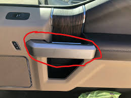 interior door handle trim piece