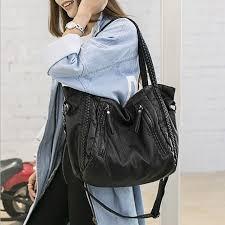 large soft leather bag women handbags