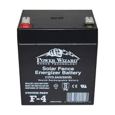 Power Wizard F 4 6v Solar Replacement Battery Ufa