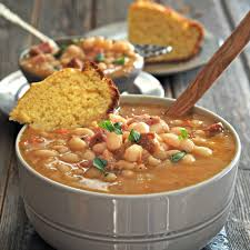 clic ham bean soup simply sated