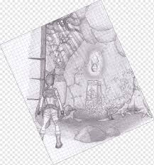 Drawing M 02csf Lara Croft And The Guardian Of Light Black And White Drawing Lara Croft And The Guardian Of Light Png Pngwing