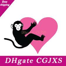 2020 16 10 9cm Monkey Hugging Heart Funny Car Window Bumper Novelty Jdm Drift Vinyl Decal Sticker From Pkkidsswj 3 57 Dhgate Com