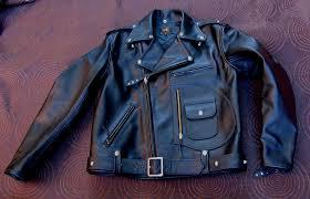 leather motorcycle jacket horsehide