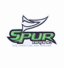 Window Decal Spur Brand The Tradition Has Evolved Logo Green B