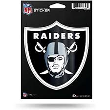 Amazon Com Oakland Raiders 8 Football Vinyl Decal Car Truck Stickers Nfl Automotive