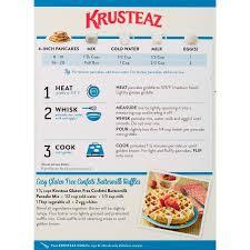 krusteaz gluten free confetti pancake