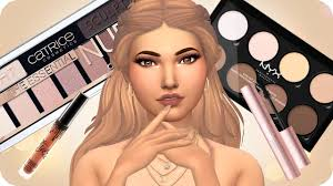 my makeup collection cc sims 4