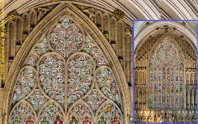stone tracery in church and cathedral