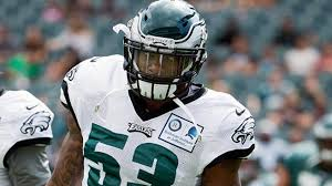 Nigel Bradham aims to fix one obvious flaw in his game | NBC ...