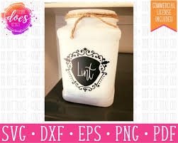 Lint Jar Lint Trap Label Design Svg File Debbie Does Design