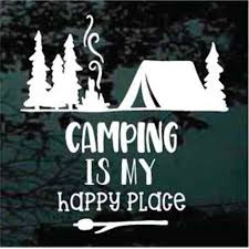 Camping Car Decals Stickers Decal Junky