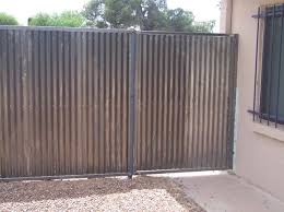 Affordable Fence And Gates Build The Best Looking Safest Corrugated Steel Fence Period We Offer It Inst Corrugated Metal Fence Steel Fence Metal Fence Panels