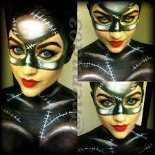 catwoman face paintings