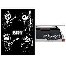 Kiss Window Decals Set Of 2 Sheets Convention Exclusive