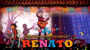 Invitaciones Virtuales Tarjeta Coco Youtube