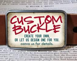 custom belt buckle personalized gift