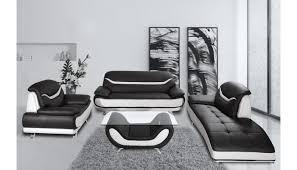 bentley modern black and white sofa set
