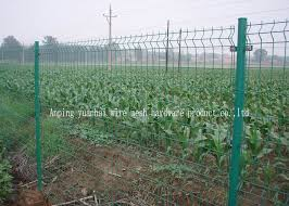 Surround Garden Welded Wire Mesh Fence Green Plastic Coated Wire Fencing