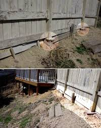 How Do I Reverse Erosion Which Is Lowering Earth Around Fence Posts Home Improvement Stack Exchange