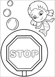Kleurplaat Kleurplaten Bubble Guppies 23 Coloring Pages