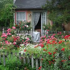 creating an easy care cottage garden