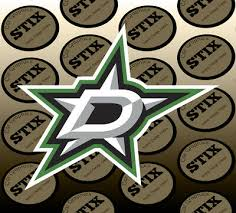 Nhl016 Dallas Stars Name Logo Die Cut Vinyl Graphic Decal Sticker Nhl Hockey Hockey Nhl Sports Mem Cards Fan Shop Stonebox It
