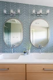 oval mirror ideas for your bathroom