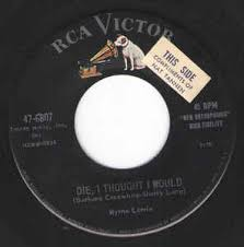 Myrna Lorrie - Die, I Thought I Would (1957, Vinyl) | Discogs