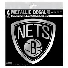 Auto Parts And Vehicles Decal Vinyl Truck Car Sticker Basketball Nba Brooklyn Nets Car Truck Graphics Decals