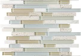 12x12 linear bliss glass stone mosaic