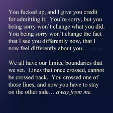 poetic justice apology accepted trust and friendship