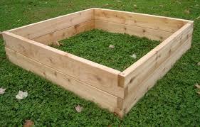 raised cedar garden bed designs