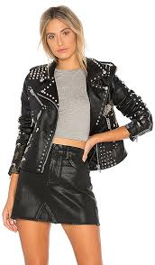 blanknyc budding romance jacket in