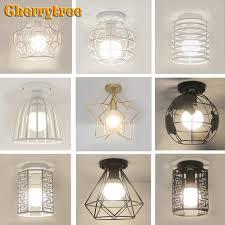 Best Price 691e1c Ceiling Light Led Ceiling Lamp Nordic Decoration Home Loft Decor Vintage Industrial Lamp Living Room Kids Room Light Fixtures Cicig Co